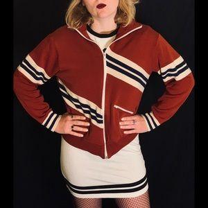 Vintage 80's Striped Sweatshirt